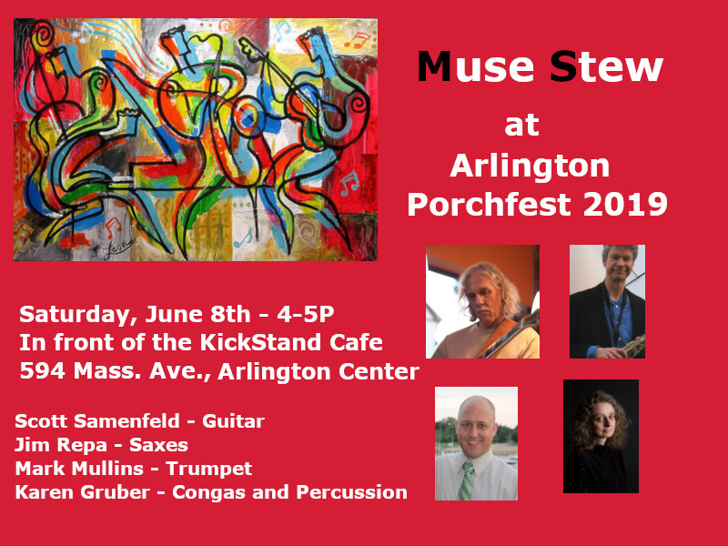 Porchfest poster 2019